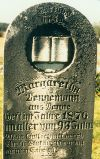 Tombstone of 'Margaretha Vennemann from Venne', Dudleytown, Jackson Co., IN